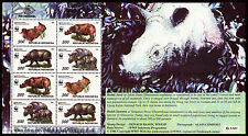 Indonesien 1648-51 Kleinbogen **, Sea-Games, Naturschutz-Nashorn