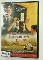 NEW *Sealed*  THE EMPEROR'S CLUB.          Kevin Kline    11