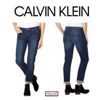 SALE! Calvin Klein Ladies Slim Boyfriend Jeans VARIETY Size & Wash! Ships H52