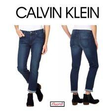241c9647d66 Calvin Klein Ladies Slim Boyfriend Jeans VARIETY Size   Wash! Ships Free!