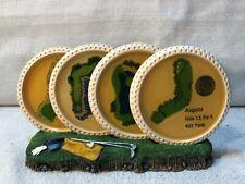 Fairway Replicas Augusta Sawgrass Cypress Harbour Town Golf 4 Coaster Set