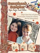 Tips Tags and Titles The Scrapbook Sampler Idea Book