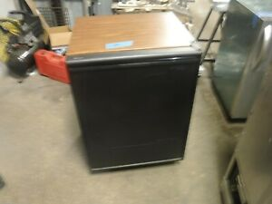 u line combo 75 icemaker refrigerator panel ready