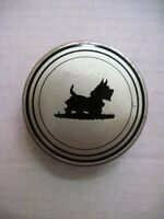 Vintage Typewriter Ribbon Metal Tin w/ Cute Scottie Dog On It   *
