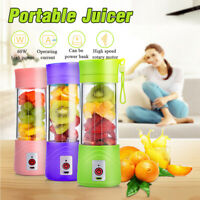 Portable USB Fruit Juicer 500ml Electric Juicer Smoothie Maker Blender Shaker K