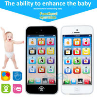 IQ Toys Kids Music Cell Phone Touch Screen Educational Learning Child Gift