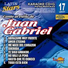 Karaoke Latin Stars 17 Juan Gabriel Vol. 1