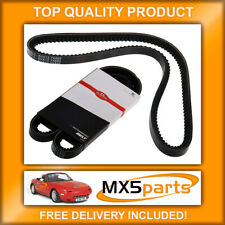 1989-1997 Alternator Drive Belt for MAZDA MX5  Mk1-1.6i 16V Quinton Hazell