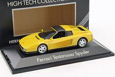 Ferrari Testarossa Spyder Baujahr 1984-1996 gelb 1:43 Herpa