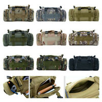 New Military Tactical Waist Pack Outdoor Shoulder Molle Camping Hiking Pouch Bag