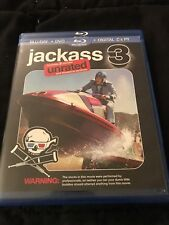 Jackass 3 (Blu-ray Disc, Unrated, 2011) Like New Condition