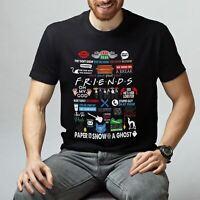 Friends TV Series Design Unisex Short Sleeve Tumblr T-Shirt Friends Art T-Shirt