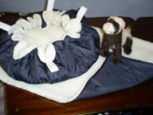 Large HANGING BED & HAMMOCK Set-- FERRET--RATS-- various designs to choose from