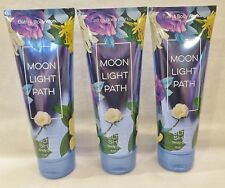 3 Moonlight Path Ultra Shea Bath & Body Works 8 Oz