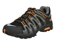 HARLEY-DAVIDSON FOOTWEAR Men's Chase Leather Nylon Athletic Hiking Shoes D93009
