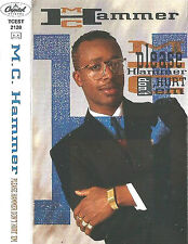 M.C. Hammer Please Hammer Don't Hurt Em CASSETTE ALBUM Capitol Hip Hop Pop Rap