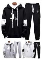 Mens Michael Air Legend 23 Jordan Tracksuit Hoodie &Pants Men Sportswear Fashion