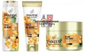 Pantene Pro V FRIZZ NO MORE Shampoo, Conditioner AND MASK