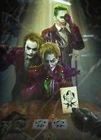 "The Joker Canvas wall art picture framed 20""x30"""