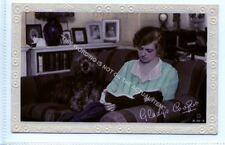 (Le5357-471) RP,  Actress Gladys Cooper with Deerhound Dog,   Unused VG