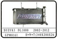SUZUKI DL1000 02-12 PREMIUM QUALITY POLISHED ALLOY RADIATOR