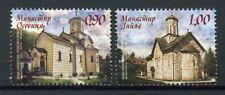 Bosnia & Herzegovina 2018 MNH Monasteries 2v Set Architecture Stamps