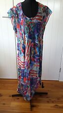 Atemgirl or @emgirl multicoloured dress Size 18 New Zealand designer BNWT