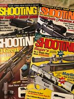 Shooting Times Magazine January September November February 2000 Gun Magazines