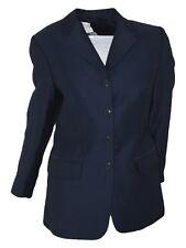 adele h giacca donna blu lana made italy 4 bottoni taglia it 42 m medium