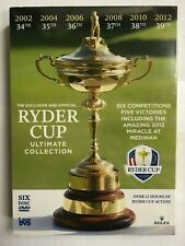 Ryder Cup Official Ultimate Collection 2010-2012 DVD  NEW & Sealed N7