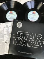 John Williams - Star Wars The Original Soundtrack 2 x Vinyl LP 1st Press BTD 541