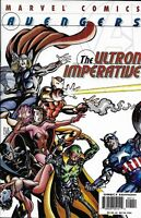 Avengers Comic 1 The Ultron Imperative Cover A First Print 2001 Marvel