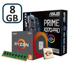 AMD AM4 ryzen 3 1200 8GB DDR4 e Scheda madre Asus Prime X370-PRO GAMING BUNDLE