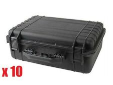 "10x 18"" Weatherproof Hard Case For DSLR Camera Lens with Pelican 1500 Pluck Foam"