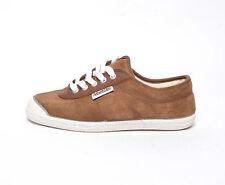 Kawasaki zapatillas de deporte ante 5S40 marrón blanco marrón blanco zapatillas