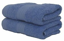 CHINA BLUE BATH SHEET TOWEL 100% EGYPTIAN COTTON LUXURY SUPER SOFT HOTEL QUALITY
