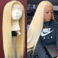 Blonde Remy Human Hair Lace Front Wig Full Lace Wigs 100% Real Brazilian Hair P1