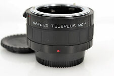 Excellent+++ Kenko N-AFs 2X Teleplus MC7 Teleconverter for Nikon from Japan