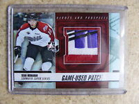 12-13 ITG H&P Heroes Prospects Game-Used Patch SEAN MONAHAN Silver  /10