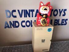 Real Head Fortune Cat Sofubi 6.9'' Vinyl Figure F.T.G. Kaiju Taro From Far East