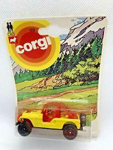Corgi Mettoy E182 Jeep - 1:64 Vintage Die-Cast 1983