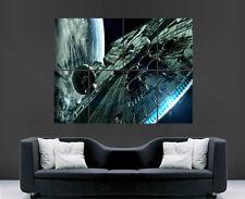 Star wars poster millennium falcon wall art photo imprimé large