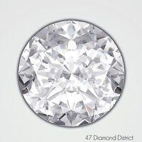 1.33ct. H-VS1 Ex Cut Round Brilliant AGI Certified Diamond 6.99x7.03x4.37mm