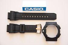 ORIGINAL  GENUINE CASIO G-9300GB-1V G-SHOCK BAND & BEZEL BLACK MATTE G-9300