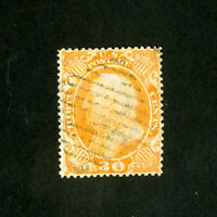 US Stamps # 38 Sup Used fresh w/ neat cancel strong color Scott Value $425.00