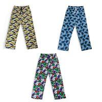 Mens Boys Official Cookie/Joker/Batman Character Lounge Pants Bottoms Nightwear