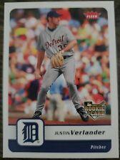 2006 Fleer Justin Verlander #426 Rookie