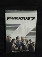 Furious 7 (DVD, 2015) w/ Slip Cover New & Sealed