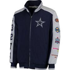 Dallas Cowboys Super Bowl Commemorative Fleece Jacket - Adult Large Free Ship