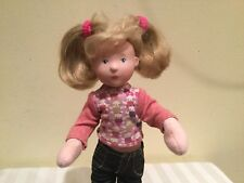 Gotz Nane Roskothen Jelly Cake & Candy Posable Doll 11 In. Orig. Clothes Germany
